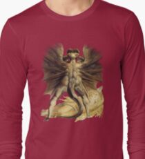 William Blake: The Great Red Dragon Long Sleeve T-Shirt