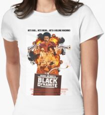 Black Dynamite 2 Movie Poster Womens Fitted T-Shirt