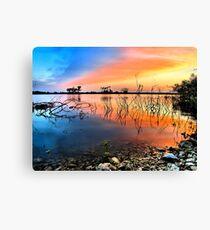 Sunrise Over Lake Texoma Canvas Print