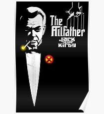 Jack The King Kirby the Allfather Poster