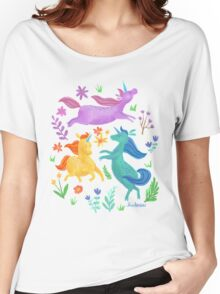 Unicorn Dreams Women's Relaxed Fit T-Shirt