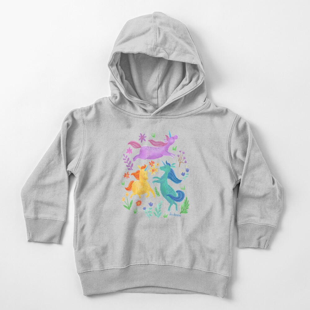 Unicorn Dreams Toddler Pullover Hoodie