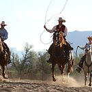 Cowboys coming in by Andrea Kennedy