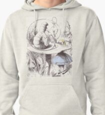 Alice Meets the Caterpillar Pullover Hoodie
