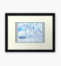 a snow woof Framed Print