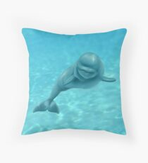 Momma's Boy Throw Pillow