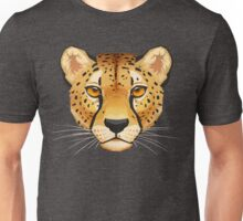 Cheetah Face Unisex T-Shirt