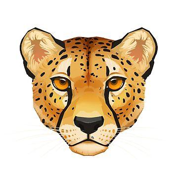Cheetah Face by PaulaLucas