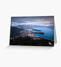 Queenstown - New Zealand Greeting Card