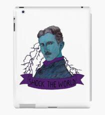 Nikola Tesla - Shock the World iPad Case/Skin