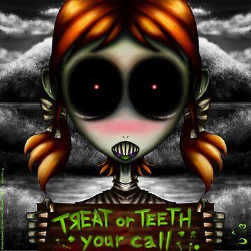 Treat or Teeth!!! by Lucifers-Shop