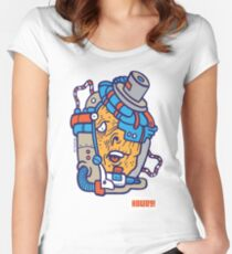 Cyborg Howdy! Women's Fitted Scoop T-Shirt