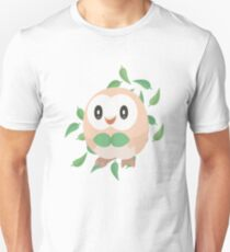 Pokemon Minimalist Rowlet Vector T-Shirt