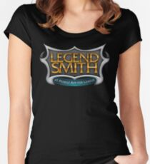 Legend Smith App for League Women's Fitted Scoop T-Shirt