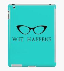 Wit Happens iPad Case/Skin