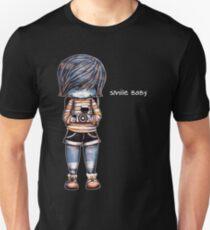 Lächeln-Baby - Retro T-Stück Slim Fit T-Shirt