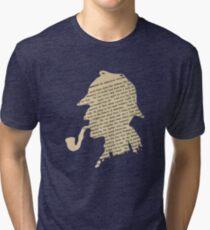 Classic Sherlock Holmes Tri-blend T-Shirt