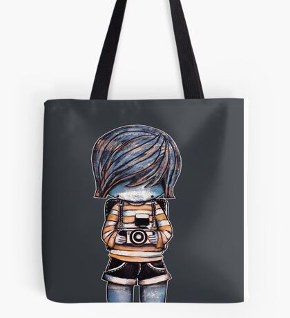 Smile Baby Photographer Tote Bag