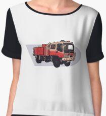 NSW Rural Fire Service Cat1 firetruck Chiffon Top