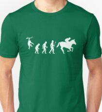 Evolution of Man And Jockey T-Shirt