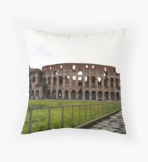 Just the Colosseum Here Throw Pillow