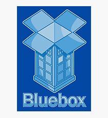 Bluebox Photographic Print