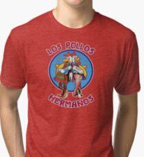 VIntage Los Pollos Hermanos Tri-blend T-Shirt