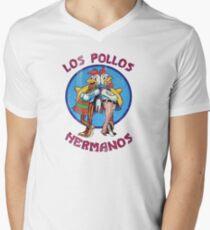 VIntage Los Pollos Hermanos Men's V-Neck T-Shirt