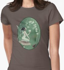 Lily of the Valley Flower Fairy Womens Fitted T-Shirt