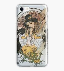 Alphonse Mucha - Ilsee Princesse De Tripoli 2 iPhone Case/Skin