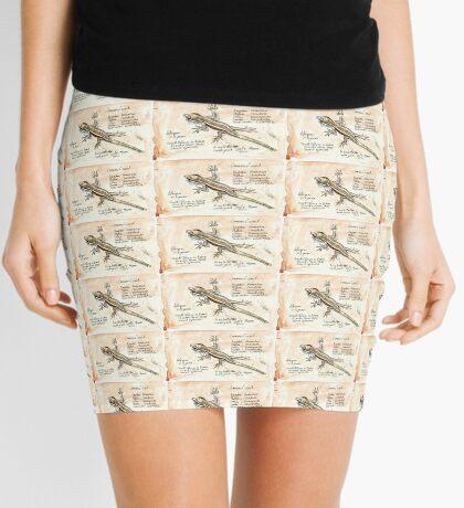 African Striped Skink - Not so easy! Mini Skirt