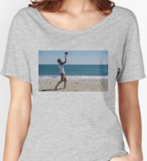 Chilling at the Beach Women's Relaxed Fit T-Shirt