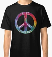 Peace, Love, Rock N' Roll Classic T-Shirt