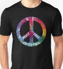 Peace, Love, Rock N' Roll Unisex T-Shirt