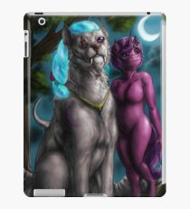Looking at the stars iPad Case/Skin