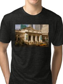Not Your Average Library Tri-blend T-Shirt