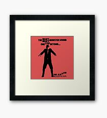 The Heavy Heavy Monster Sound, One Step Beyond Framed Print