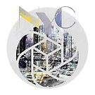 TRENDY DESIGN New York City | Geometric Mix No 4 by Melanie Viola