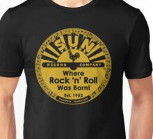 Sun Records : Where Rock N' Roll Was Born Unisex T-Shirt