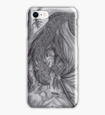Hungarian horntail - BW iPhone Case/Skin