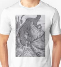 Hungarian horntail - BW T-Shirt