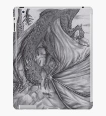 Hungarian horntail - BW iPad Case/Skin