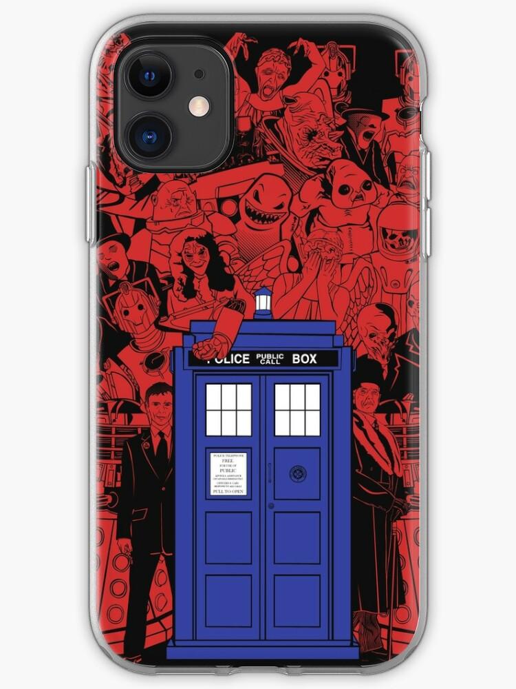DOCTOR WHO TARDIS KANJI iphone case