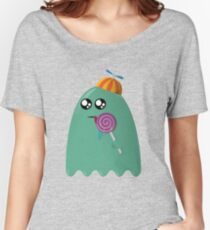 Pac-Man Ghost Women's Relaxed Fit T-Shirt