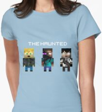 The Haunted - Pixelated Women's Fitted T-Shirt