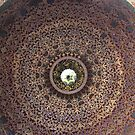 Istanbul - Topkapi Palace Bath Ceiling  by rsangsterkelly