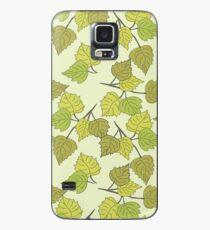 Birch leaves Case/Skin for Samsung Galaxy