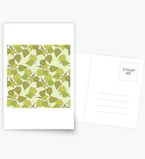 Birch leaves Postcards