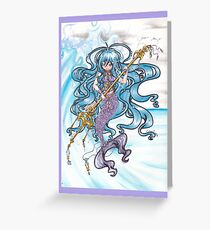 Mermaid Queen Greeting Card