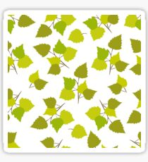 Birch leaves Sticker
